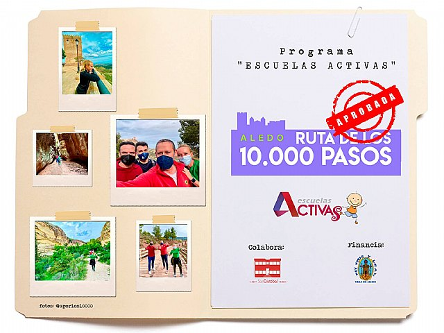 """Aprobada la """"RUTA DE LOS 10.000 PASOS"""" de Aledo - 1, Foto 1"""