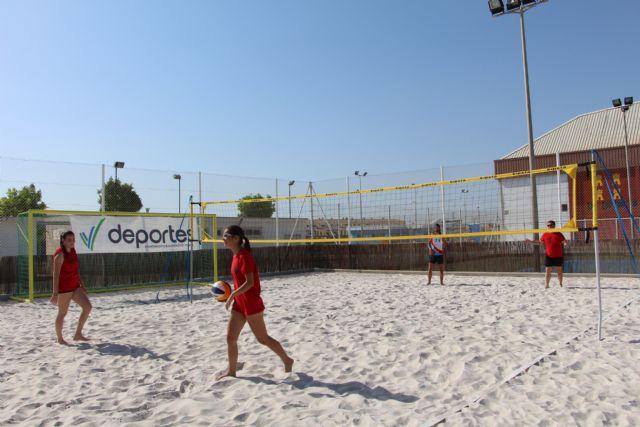 Entra en funcionamiento una nueva pista de vóley playa en San Pedro del Pinatar - 1, Foto 1