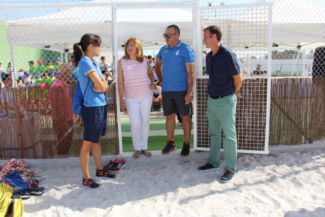 Entra en funcionamiento una nueva pista de vóley playa en San Pedro del Pinatar - 2, Foto 2
