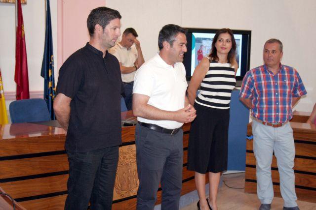 El alcalde recibe en el Ayuntamiento a los últimos campeones del Nutribán Sociedad Atlética Alcantarilla - 3, Foto 3