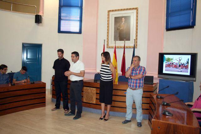 El alcalde recibe en el Ayuntamiento a los últimos campeones del Nutribán Sociedad Atlética Alcantarilla - 4, Foto 4