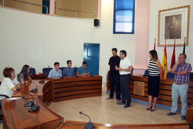El alcalde recibe en el Ayuntamiento a los últimos campeones del Nutribán Sociedad Atlética Alcantarilla - 5, Foto 5