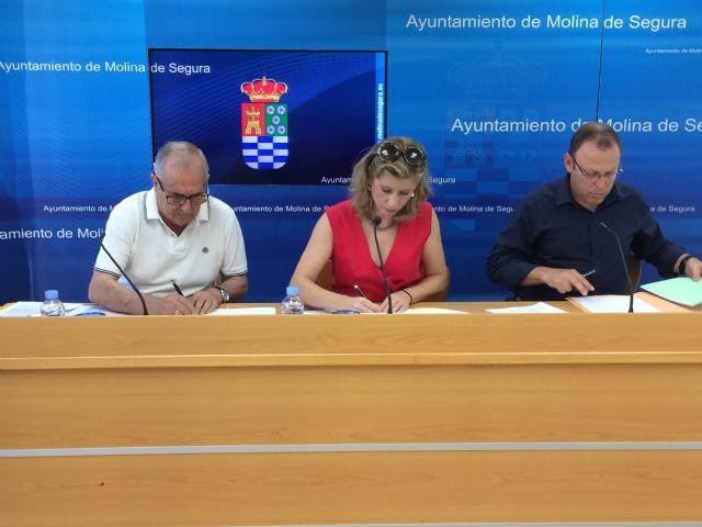 El Ayuntamiento de Molina de Segura y la Asociación para un Envejecimiento Activo y Saludable firman un convenio de colaboración - 1, Foto 1