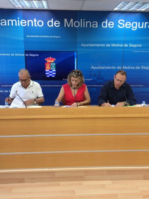 El Ayuntamiento de Molina de Segura y la Asociación para un Envejecimiento Activo y Saludable firman un convenio de colaboración - 2, Foto 2