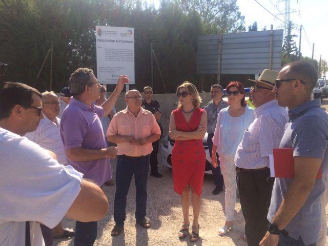 La Alcaldesa de Molina de Segura visita el desarrollo de las obras que se ejecutan con cargo a los Presupuestos Participativos 2016 - 4, Foto 4