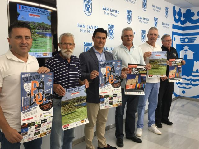 La Asociación para la Distrofia Muscular y otras Enfermedades Raras de San Javier organiza un ciclo de tres torneos a benéficos de la Fundación Isabel Gemio - 1, Foto 1