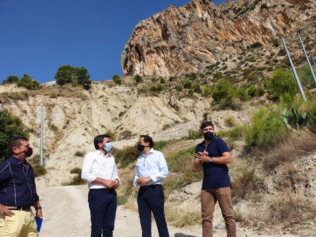 La Comunidad invertirá más de 265.000 euros en la consolidación de laderas para garantizar la seguridad en Ulea - 1, Foto 1
