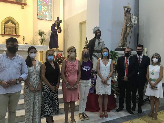 La Cofradía del Apóstol Santiago conmemora el décimo aniversario de su imagen titular - 1, Foto 1