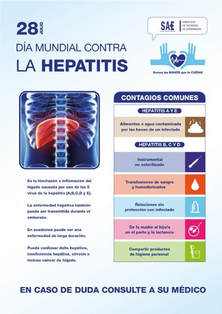 28 de julio, Día Mundial contra la Hepatitis - 1, Foto 1