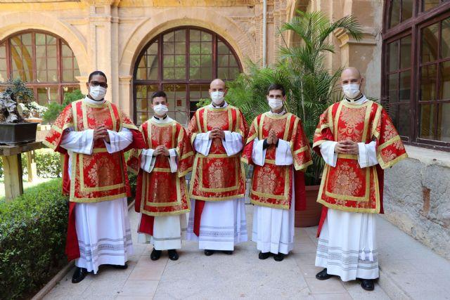 La Diócesis de Cartagena tiene cinco nuevos diáconos - 2, Foto 2