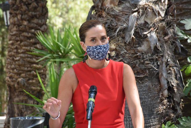 Consejera de Turismo y Alcaldesa presentan en Archena la Campaña de Promoción Turística Verano 2020 potenciando el turismo de salud - 2, Foto 2