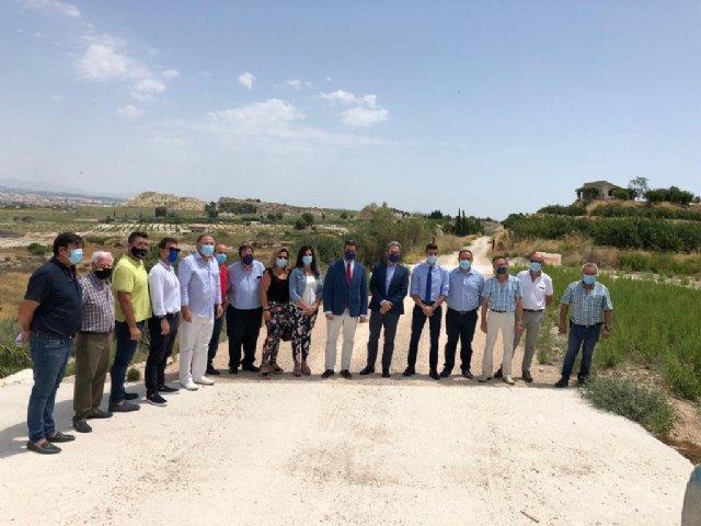 Visita del Consejero de Fomento y el Director General de Carreteras para el arreglo de la RM-531 y el cambio del Arco Noroeste - 2, Foto 2