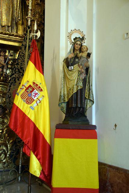 La comandancia naval de Sevilla dedicó una santa misa en honor a su patrona, la Santísima Virgen del Carmen - 1, Foto 1