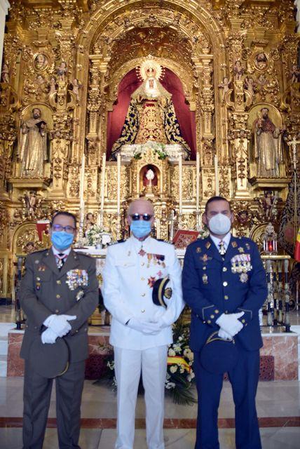 La comandancia naval de Sevilla dedicó una santa misa en honor a su patrona, la Santísima Virgen del Carmen - 3, Foto 3