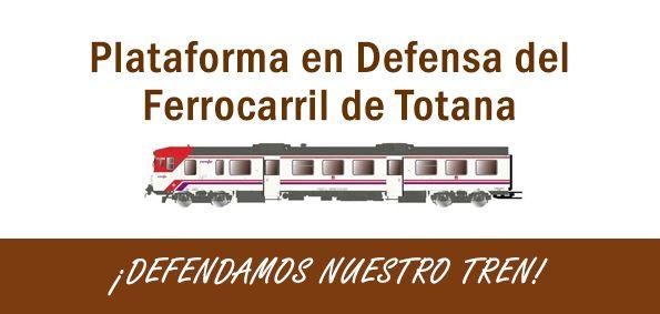 [Por el mantenimiento de la línea de cercanías Murcia-Águilas