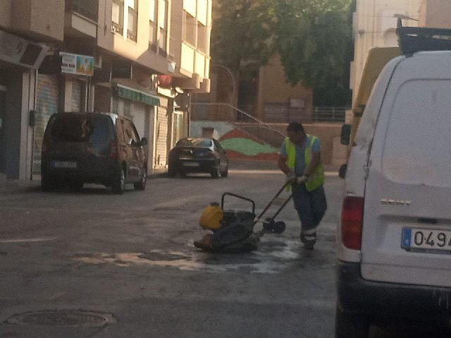 [Brigada municipal: trabajos del 27 de julio