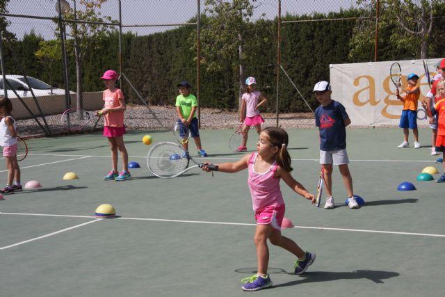 Inicio del curso 2016-17 de la escuela de tenis del club de tenis Totana, Foto 3