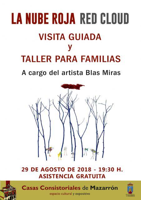 Visita guiada y taller para familias de Blas Miras en Casas Consistoriales, Foto 1