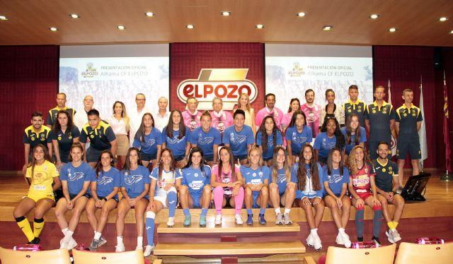 ELPOZO ALIMENTACIÓN apuesta por el deporte femenino dando nombre al Alhama club de Fútbol Femenino