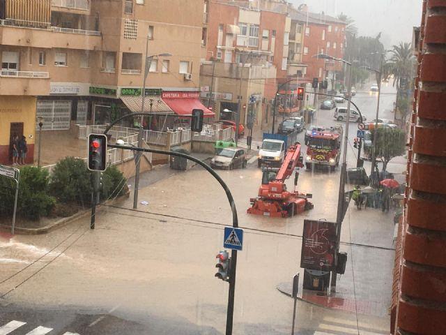 El municipio vuelve a la normalidad sin daños significativos tras las fuertes lluvias caídas esta tarde - 2, Foto 2