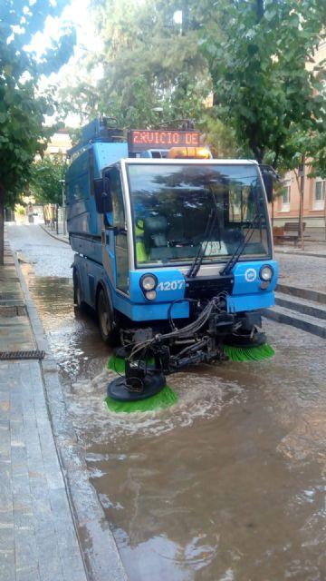 El municipio vuelve a la normalidad sin daños significativos tras las fuertes lluvias caídas esta tarde - 3, Foto 3