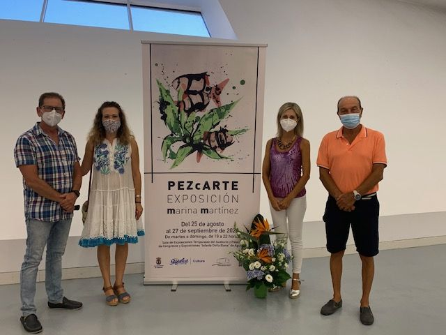 La pintora aguileña Marina Martínez reinicia la actividad cultural del Auditorio y Palacio de Congresos Infanta doña Elena - 1, Foto 1