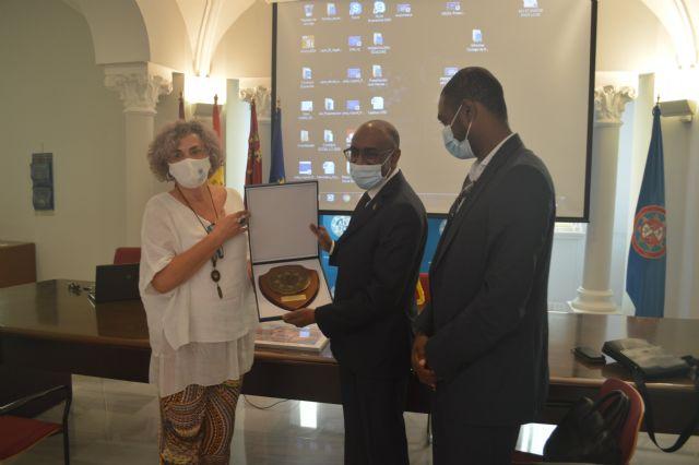 La UPCT plantea un acuerdo de colaboración con Mauritania para atraer a estudiantes del país africano - 1, Foto 1