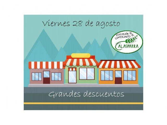 Grandes descuentos en los pequeños comercios de Calasparra el próximo 28 de agosto - 1, Foto 1