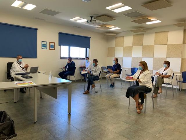 El alcalde de San Javier, José Miguel Luengo propone la creación de un punto COVID en el municipio - 1, Foto 1