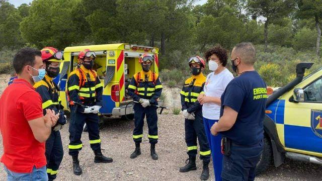 Ayuntamiento de Puerto Lumbreras y Gobierno regional previenen incendios en el término municipal gracias a la coordinación a través del Plan INFOMUR - 1, Foto 1