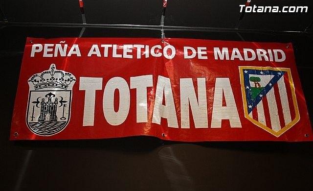 La Peña Totana Atletico Madrid organized a trip to the Vicente Calderon on Saturday 15 October