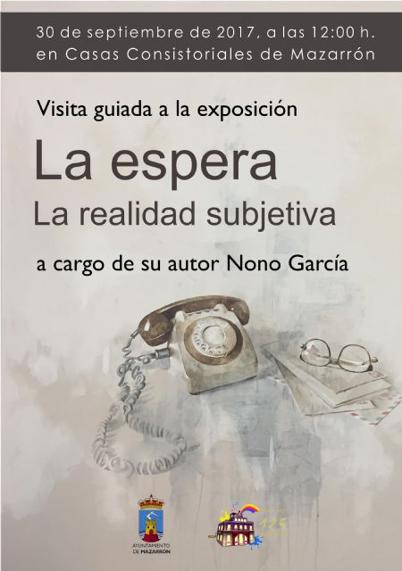 Visita guiada de Nono García a su exposición de Casas Consistoriales - 1, Foto 1