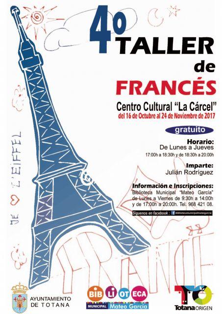 Se abre el plazo de inscripción para el IV Taller de Conversación en Francés
