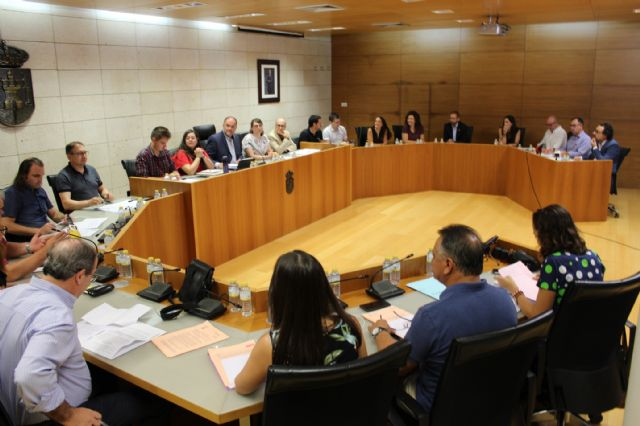 The Plenary approves initially the general budget of the City Council and municipal societies for the year 2019 amounting to 32.2 million euros, Foto 1