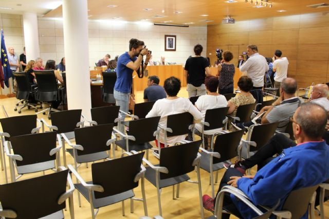 The Plenary approves initially the general budget of the City Council and municipal societies for the year 2019 amounting to 32.2 million euros, Foto 2