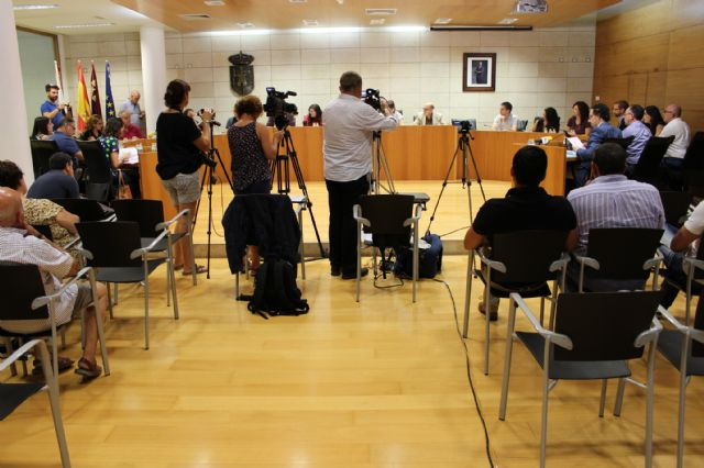 The Plenary approves initially the general budget of the City Council and municipal societies for the year 2019 amounting to 32.2 million euros, Foto 4
