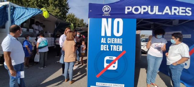 El Partido Popular llevará a pleno una moción para exigir al Gobierno de la Nación el mantenimiento del servicio de cercanías Murcia-Águilas - 3, Foto 3