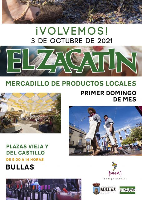 El próximo domingo regresa El Zacatín dedicado a la vendimia - 1, Foto 1