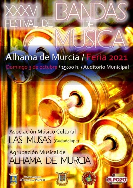XXXVI Festival de Bandas de Música de Alhama: 3 de octubre de 2021 - 2, Foto 2