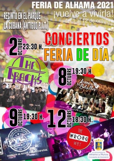 La Feria de Día 2021 tendrá conciertos y estará ubicada en recinto del parque de La Cubana - 2, Foto 2