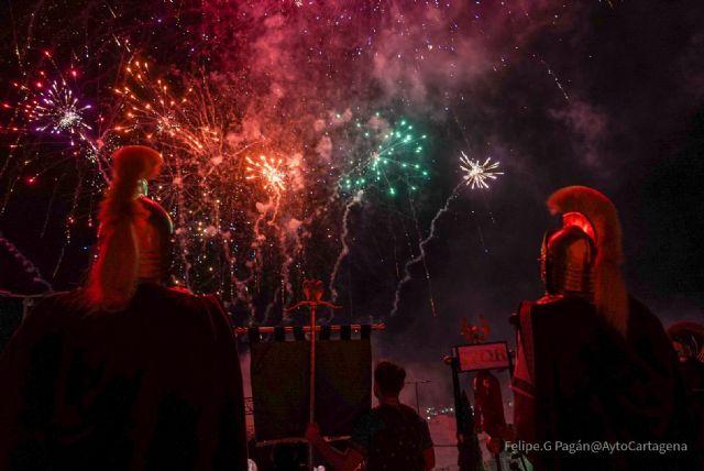 El apagado del fuego sagrado despide las fiestas de Carthagineses y Romanos - 1, Foto 1