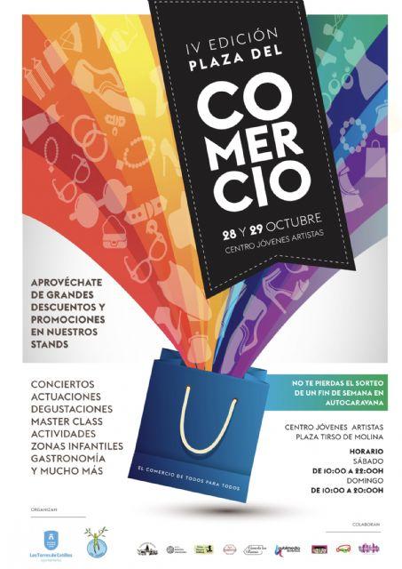 El Centro de Jóvenes Artistas torreño acogerá desde mañana la 'IV Plaza del Comercio', Foto 1