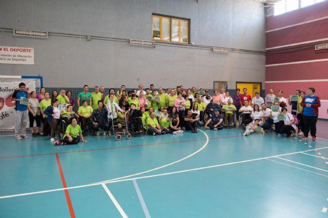 La Aceña acoge el I encuentro deportivo intercentros para personas con discapacidad intelectual, Foto 1