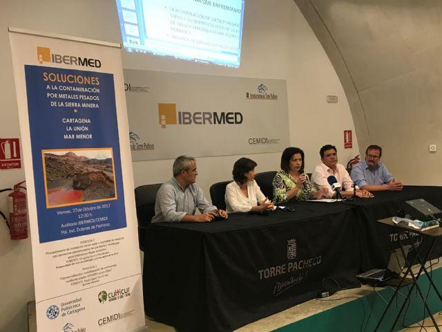 Soluciones a la Contaminación por Metales pesados de la Sierra Minera, Cartagena, La Unión y Mar Menor, título de las primeras jornadas que se celebran en el CEMIDI - 3, Foto 3