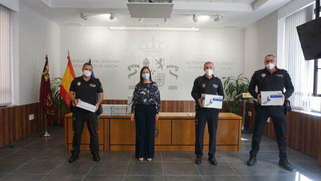 La Jefatura Provincial de Tráfico cede 445 kits especiales de drogas a los ayuntamientos de Archena, Molina de Segura y Murcia para detectar el consumo entre los conductores - 1, Foto 1
