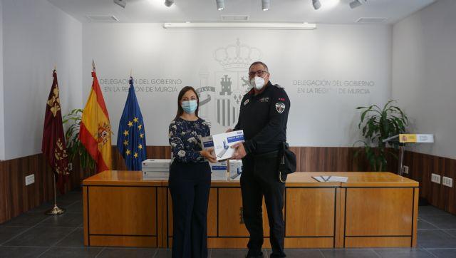 La Jefatura Provincial de Tráfico cede 445 kits especiales de drogas a los ayuntamientos de Archena, Molina de Segura y Murcia para detectar el consumo entre los conductores - 2, Foto 2