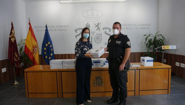 La Jefatura Provincial de Tráfico cede 445 kits especiales de drogas a los ayuntamientos de Archena, Molina de Segura y Murcia para detectar el consumo entre los conductores - 4, Foto 4