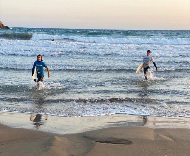 Saorí García y Paula Fernández se imponen en la decima edición del Surfito Bahía de Mazarrón - 1, Foto 1