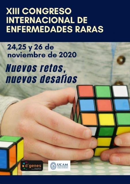 Abierto el plazo de inscripción al XIII Congreso Internacional de Enfermedades Raras