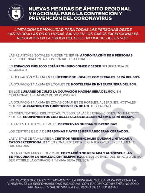 Protocolos de actuación ante las nuevas medidas del Estado de Alarma - 3, Foto 3